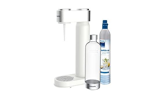Philips ADD4902WH/10 GoZero Sprudelwasserbereiter, Kunststoff, 1 Liter, Weiß