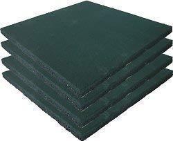 Loggyland Fallschutzmatte grün 4er Set