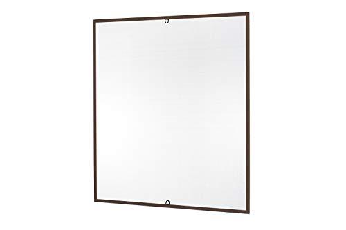 Insektenschutz Fliegengitter Fenster START Fliegenschutz Alurahmen Mückengitter in weiß, braun oder anthrazit als Selbstbausatz, auf Maß geschnitten oder komplett...
