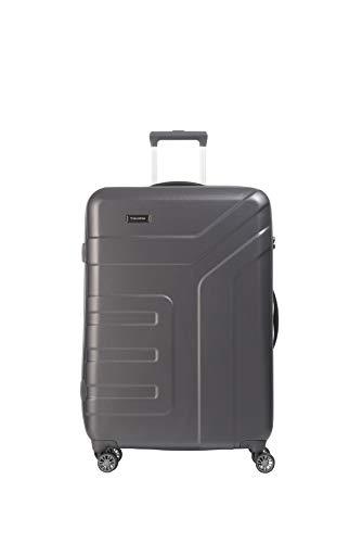 """Travelite Koffer-Serie """"VECTOR"""" von travelite: Robuste Hartschalen-Trolleys und Beautycases in 4 Trendfarben Kosmetikkoffer, 77 cm, 103 liters, Grau (Anthrazit)"""