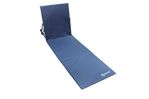 Homecall Strandmatte mit Rückenlehne - (Blau)
