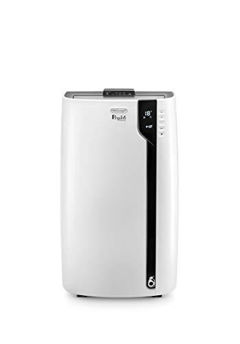 De'Longhi Pinguino PAC EX100 Silent mobiles Klimagerät mit Abluftschlauch, Klimaanlage für Räume bis 110 m³, Luftentfeuchter, Ventilationsfunktion, 24h-Timer,...