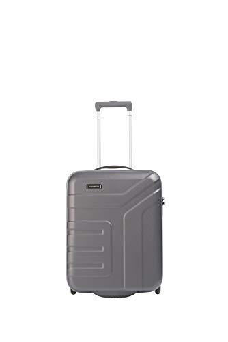 """Travelite Koffer-Serie """"VECTOR"""" von travelite: Robuste Hartschalen-Trolleys und Beautycases in 4 Trendfarben Kosmetikkoffer, 55 cm, 44 liters, Grau (Anthrazit)"""