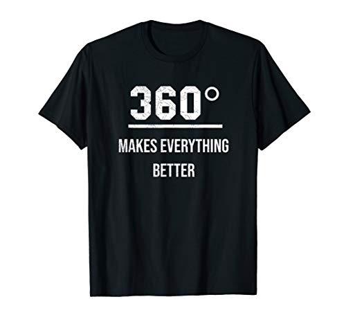 360-Grad-Kamera Fotografie Fotograf Panorama Bilder T-Shirt