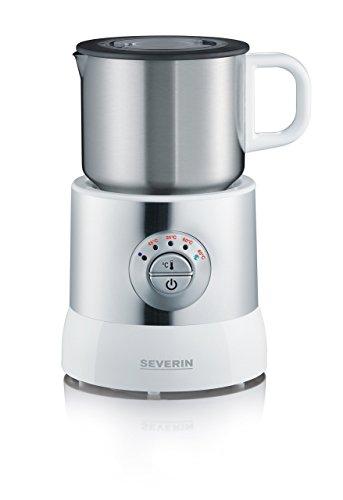 SEVERIN SM 9685 Milchaufschäumer (Erwärmen (Bis zu 700 ml) Aufschäumen (Bis zu 350 ml) Induktion) weiß