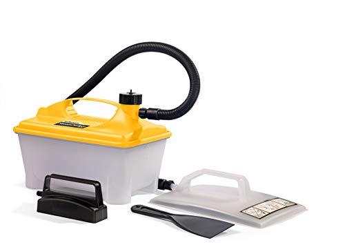 WAGNER Dampftapetenablöser W 16, Dampfkraft 60 g/min, Behälter 5 l, Dampfzeit max. 80 min, zus. kleine Dampfplatte & Spachtel