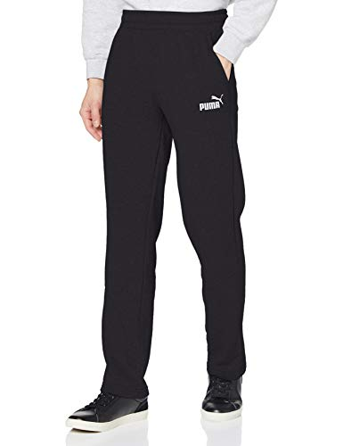 Puma Herren ESS Logo Pants TR op SRL Hose, Black, M