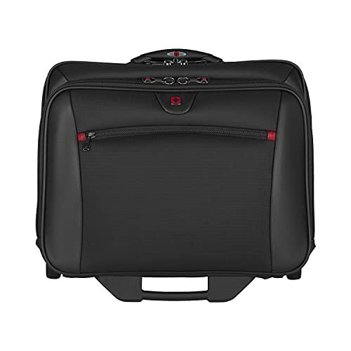 Wenger 600661 POTOMAC 17' 2-Stück Aktuelle Laptop-Aktentasche, Gepolstertes Laptopfach mit passendem 15.4' Laptoptasche in Schwarz {23 Litres}