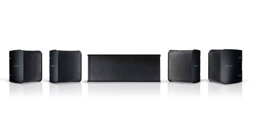 Pioneer Lautsprecher-Set, S-11, (1x Center Lautsprecher, 2x Front Lautsprecher, 2x Surround Lautsprecher), für Heimkino-Systeme, 150 Watt max. Belastbarkeit,...
