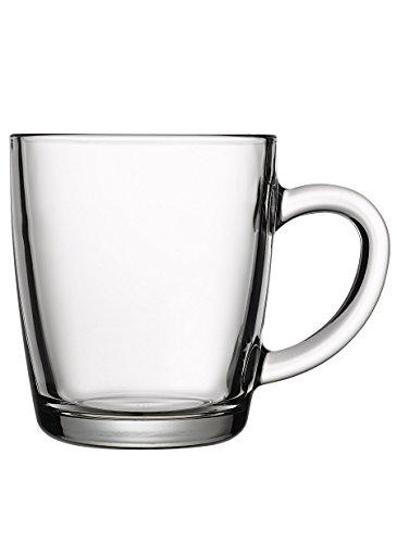 Pasabahce 55531 – Trinkgläser, Teeglas Mit Henkel'Basic', 6er Set