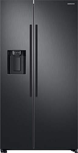Samsung RS8000 RS67N8211B1/EF Side by Side Kühlschrank/A++ / 609 L/Schwarz/Space Max/Twin Cooling+ / Wasser- und Eisspender