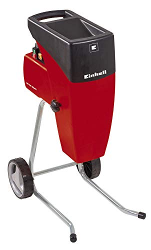 Einhell Electric Quiet Shredder GC-RS 2540 (2000 W, max 40 mm branch thickness, cutting roller, reversing switch, large hopper opening, sturdy chassis, incl.