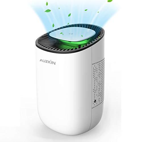 AUZKIN Mini Luftentfeuchter Elektrischer Entfeuchter gegen Feuchtigkeit und Schimmel,Tragbar Raumentfeuchter Dehumidifier für 5-15m²Raum Badezimmer WC Garderobe...
