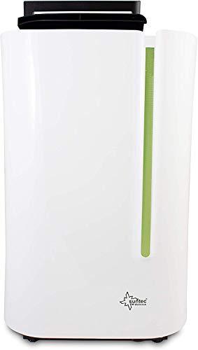 SUNTEC Dryfix 20 Lumio Luftentfeuchter – für Räume bis 150 M³ (ca 65 m2)   Raumentfeuchter mit 20 l/Tag Entfeuchtung   Entfeuchter elektrisch inkl. Luftreiniger...