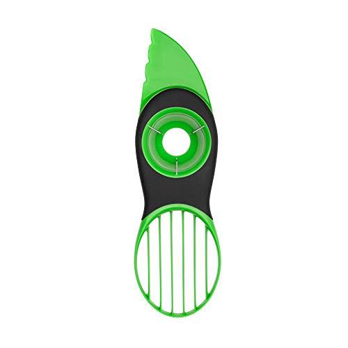 OXO Good Grips 3-in-1-Avocadoschneider, grün