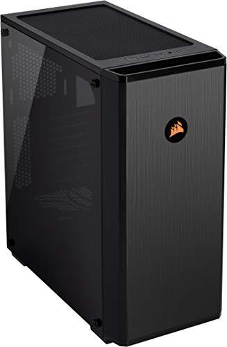 Corsair Carbide Series, 175R RGB, Gaming PC-Gehäuse (Mid Tower ATX, Gehärtetem Glas, Window) schwarz
