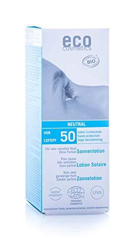 eco cosmetics Sonnenlotion LSF 50 neutral, 100 g