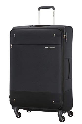 Samsonite Base Boost - Spinner L Extendable Case, 78 cm, 105 / 112.5 L, Black