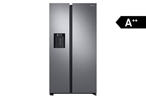 Samsung RS8000 RS6GN8231S9 / EG side-by-side refrigerator / A ++ / 389 kWh / year / 178 cm height / 407 L refrigerator / 210 L freezer / Space Max / Twin Cooling Plus