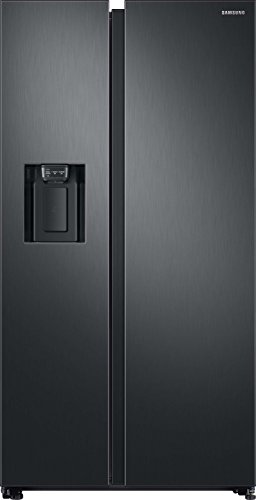 Samsung RS8000 RS6GN8321B1 / EG Side-by-side refrigerator / A ++ / 389 kWh / year / 178 cm height / 407 L refrigerator compartment / 210 L freezer compartment / Space Max / Twin Cooling Plus / black