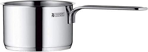 WMF Mini Stielkasserolle 10 cm ohne Deckel, Kochtopf klein 0,5l, Milchtopf, kleiner Topf für Singlehaushalt, Cromargan Edelstahl, Induktion, stapelbar