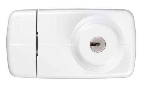 ABUS Tür-Zusatzschloss 7025 mit beidseitigem Zylinder, weiß, 53273