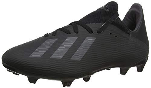 adidas Men's X 19.3 Fg Soccer Shoes, Black (Core Black / Utility Black / Silver Met. Core Black / Utility Black / Silver Met.), 44 2/3 EU