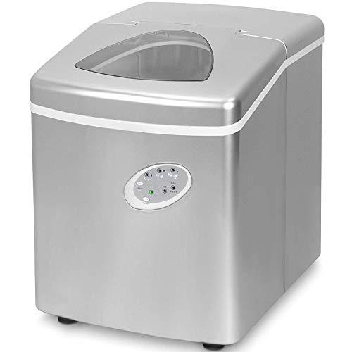Think Gizmos Ice Maker Maschine für zu Hause - bester Wohnungs Ice Würfel Maker mit tragbarer Arbeitsplatte wo die Eiswürfel Maschine - 15kg in 24 Stunden...