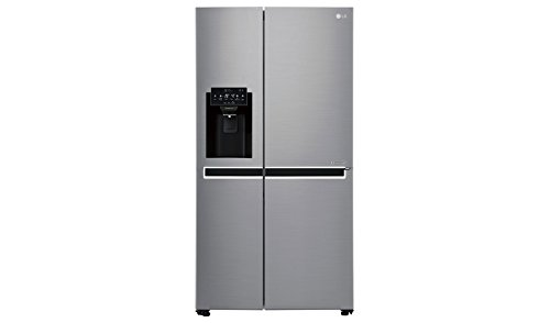 LG Electronics GSL 461 ICEZ Side-by-Side / A ++ / 376 kWh / year / 179 cm / 405 L fridge / 196 L freezer / steel / inverter linear compressor / No Frost