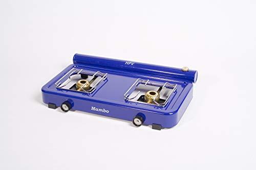 Spirituskocher Benzinkocher Mambo 2 fl. blau