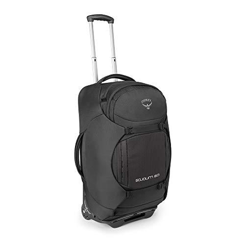 Osprey Sojourn 60 Reisetasche mit Rollen, unisex - Flash Black (O/S)