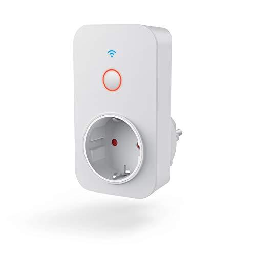 Hama 176565 WiFi-Steckdose, int. Strommessgerät, Weiß