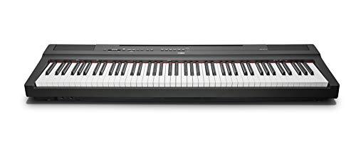 Yamaha P-125B Digital Piano, schwarz – – Kompaktes elektronisches Klavier in schlichtem Design für perfekte Spielbarkeit – Kompatibel mit kostenloser App...
