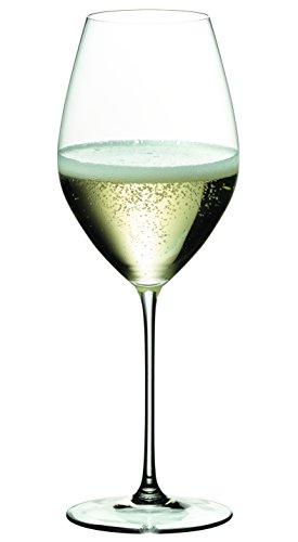 RIEDEL 6449/28 Riedel Veritas Champagner Wein Glas, 2-teiliges Champagnerglas Set, Kristallglas