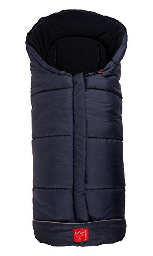 Kaiser Naturfelle 6570822 - Fußsack'Iglu Thermo Fleece', Farbe: marine