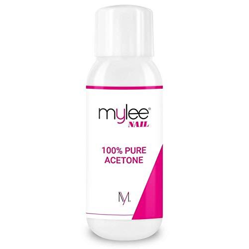 Mylee Aceton 100% Pure Nagellackentferner hohe Qualität für UV/LED Gel (300ml)