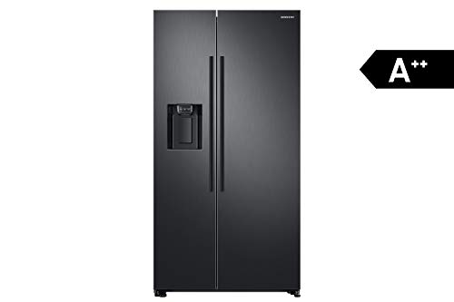 Samsung RS8000 RS67N8211B1 / EF Side by Side Refrigerator / A ++ / 609 L / Black / Space Max / Twin Cooling + / Water and Ice Dispenser