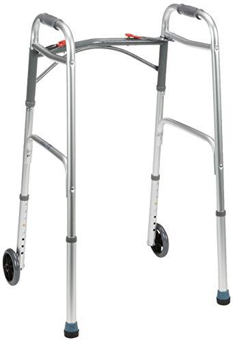 Drive Medical WA009 kävelijä etupyörineen, kokoontaitettava