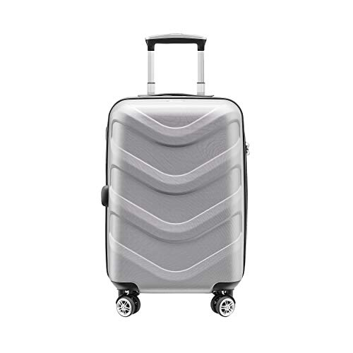 Stratic Arrow 4-Rollen-Trolley 78 cm Silber