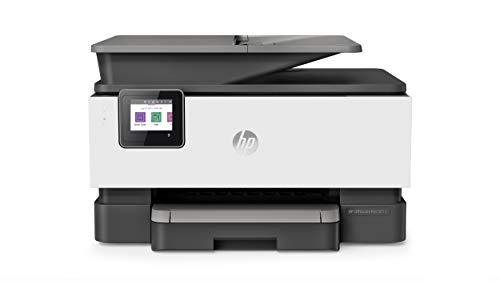 HP OfficeJet Pro 9012 Multifunktionsdrucker (HP Instant Ink, A4, Drucker, Scanner, Kopierer, Fax, WLAN, LAN, Duplex, HP ePrint, Airprint, mit 2 Probemonaten HP...