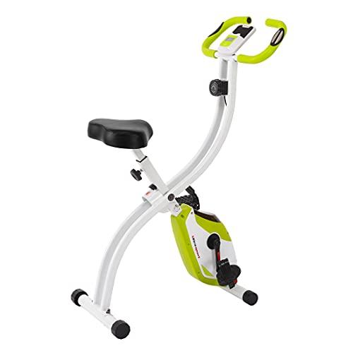 Ultrasport F-Bike 150 ohne Rückenlehne, Heimtrainer, Fitnessbike, Grün