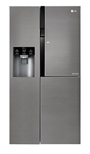 LG Electronics GSJ 361 DIDV Side by Side / A + / 429 kWh / year / 179 cm / 394 L fridge / 197 freezer / dark graphite / digital display with temperature control / ...
