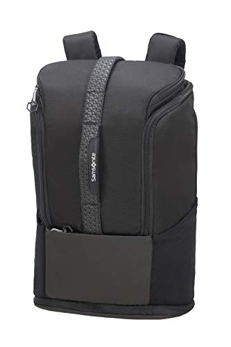 Samsonite Hexa-Packs - Laptop Backpack Medium Expandable - Sport Rucksack, 49 cm, 26 Liter, Black