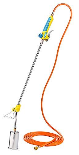 GLORIA Thermoflamm BIO Professional PLUS - Gas Abflammgerät | Leistungsstark & langlebig | für große Flächen | Druckgasflaschen-Anschluss | Unkrautbrenner für...