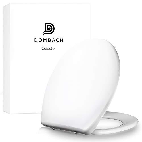 Dombach Celesto Toilettendeckel - der Innovative Premium WC-Sitz mit Softclose / Absenkautomatik - Abnehmbar - Toilettensitz familienfreundlich antibakteriell aus...