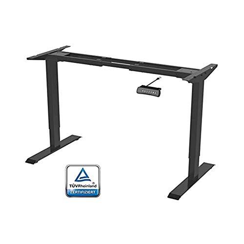 Flexispot ED2B Höhenverstellbarer Schreibtisch Elektrisch höhenverstellbares Tischgestell, passt für alle gängigen Tischplatten. Mit Memory-Steuerung und...