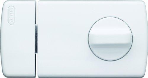 ABUS Tür-Zusatzschloss 2110 mit Drehknauf, weiß, 56032
