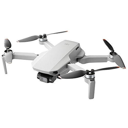 DJI Mini 2 - Ultraleichter und faltbarer Drohnen-Quadkopter, 3-Achsen-Gimbal mit 4K-Kamera, 12MP Foto, 31 Minuten Flugzeit, OcuSync 2.0 HD-Videoübertragung, Mavic...