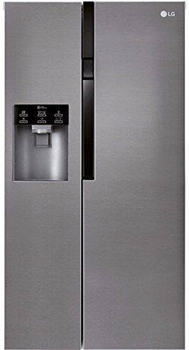LG Electronics GSL 361 ICEZ Side by Side / A ++ / 179 cm / 375 kWh / year / 394 Litre / 197 Freezer / Digital Display with Temperature Control / No Frost / Dark ...