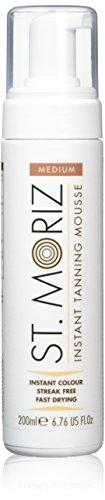 St. Moriz Self Tanning Mousse Medium, 1er Pack (1 x 200 ml)